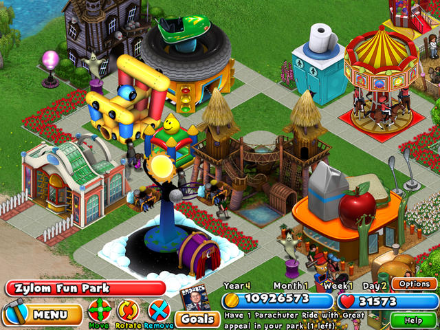 Amusement Park Games, play them online for free on GamesXL.