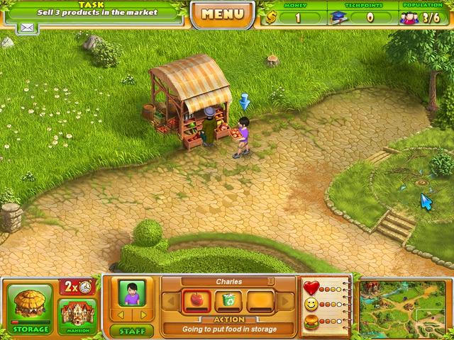 Play Farm Tribe 2