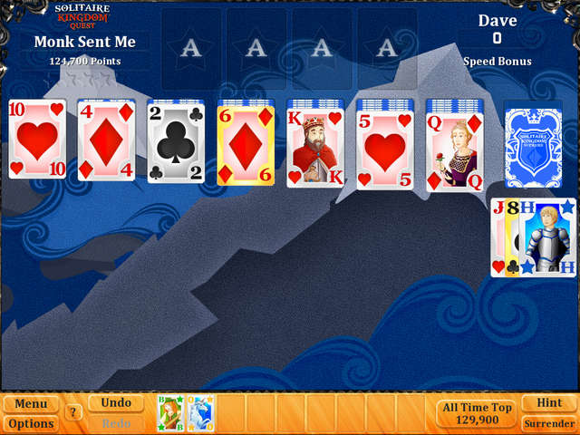 Play Solitaire Kingdom Quest
