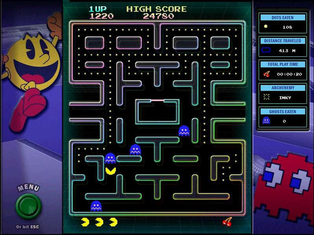 Play NAMCO ALL-STARS - PAC-MAN