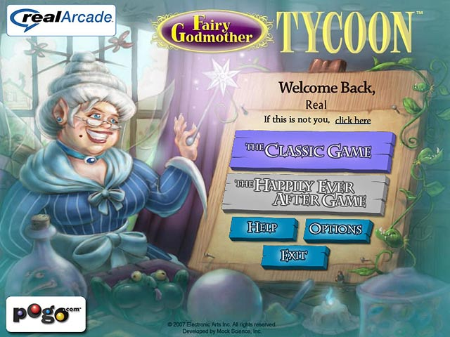 Play Fairy Godmother Tycoon