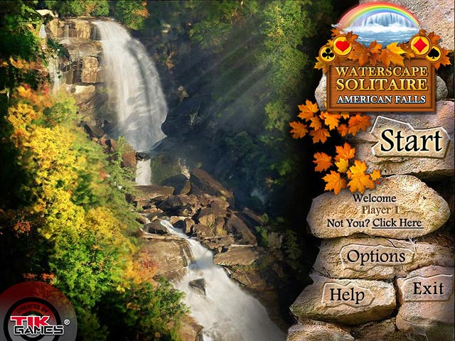 Play Waterscape Solitaire - American Falls