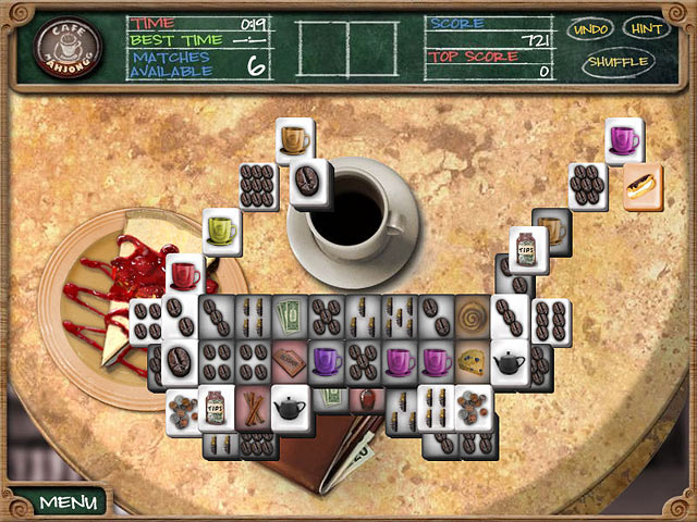 Play Cafe Mahjongg