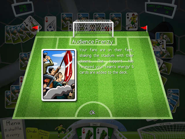 Play Soccer Cup Solitaire