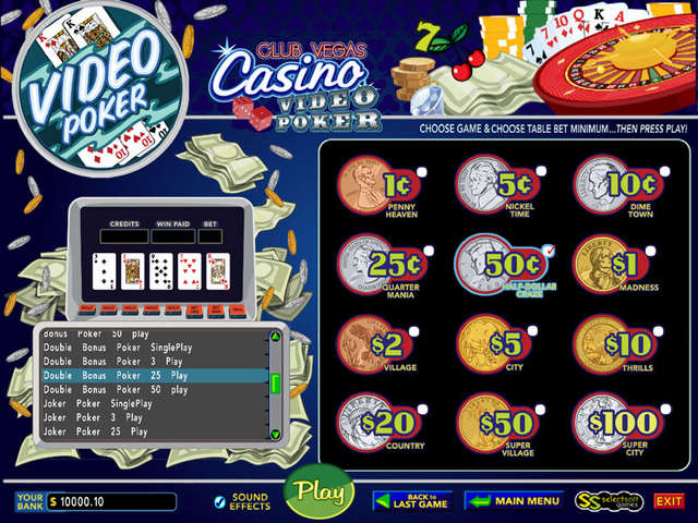 casino poker club vegas