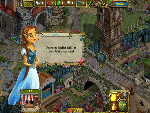 Play Tales of Lagoona 2 - Peril at Poseidon Park