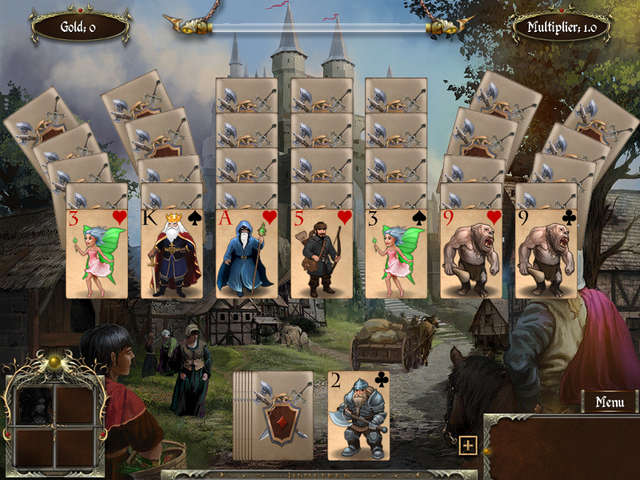 Play Legends of Solitaire - Curse of the Dragons