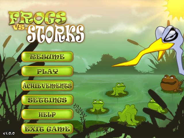 Play Frogs vs Storks