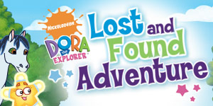 Dora's Lost and Found Adventure   GameHouse