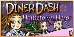 Diner Dash Hometown Hero Online
