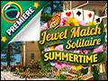 Jewel Match Solitaire Summertime Deluxe