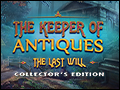 The Keeper of Antiques - The Last Will Deluxe