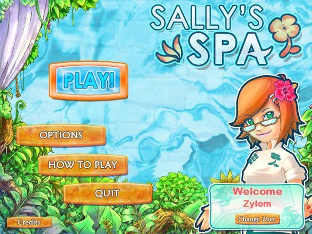 Sally's Spa gameplay