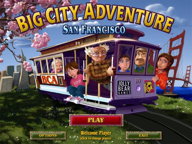 Jolly Bear Games - Big City Adventure