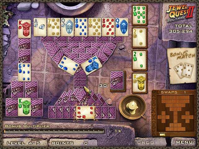 Jewel Quest Solitaire Ii Gamehouse