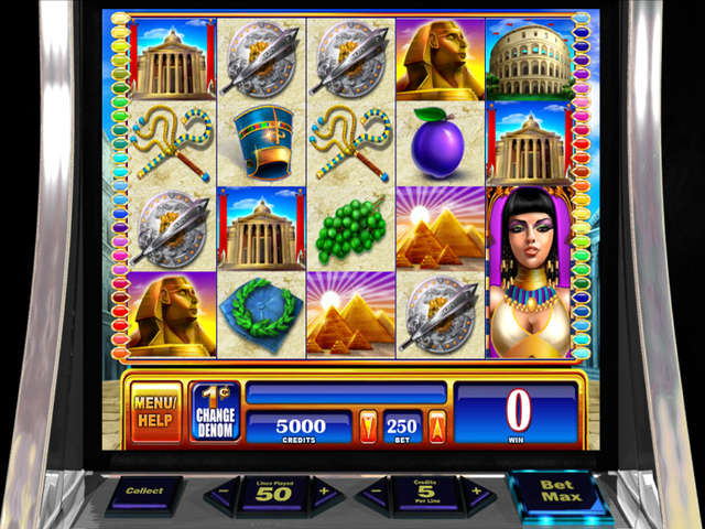 Egyptian slot machine
