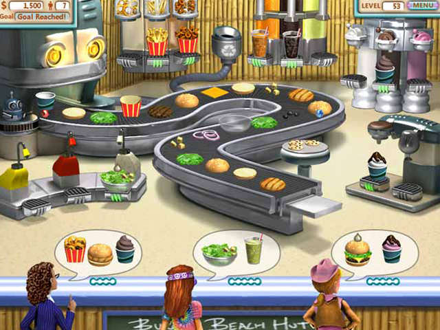 Games Online Food Restaurant