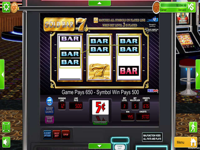 Gold Bar Slot