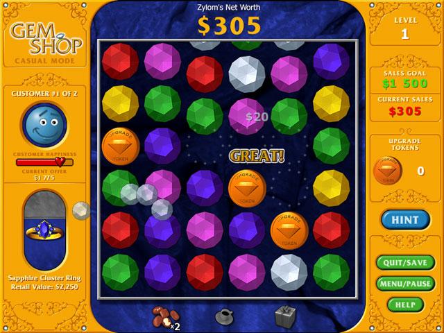 Gem Shop Game Online