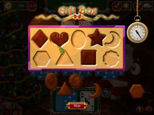 Santa's Christmas Solitaire | GameHouse