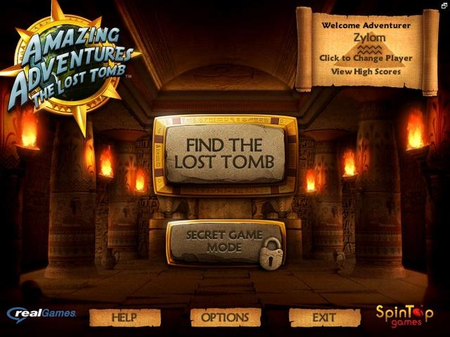 amazing adventures the lost tomb play free online