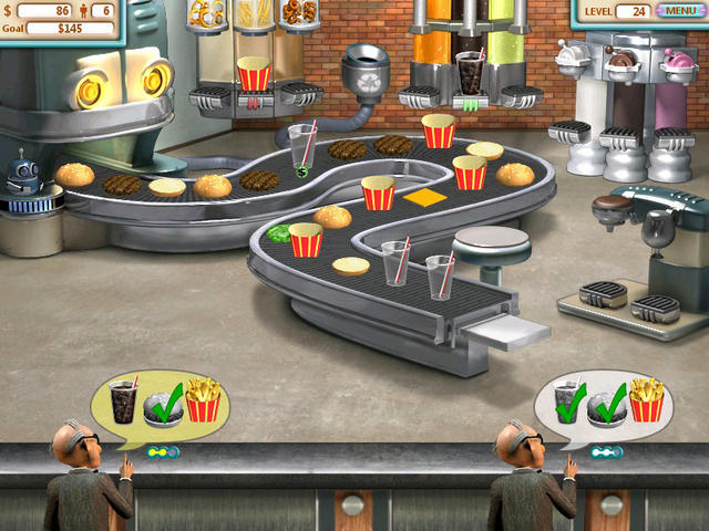 burger shop 3 games free online