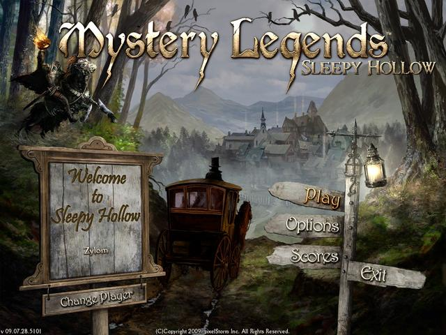 Mystery Legends Sleepy Hollow GameHouse