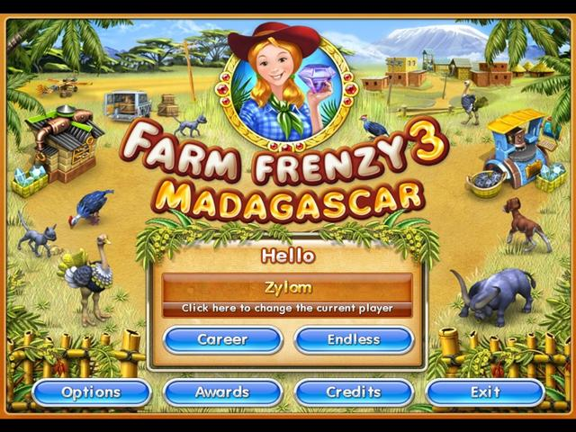 Farm Frenzy 3 - Madagascar | GameHouse