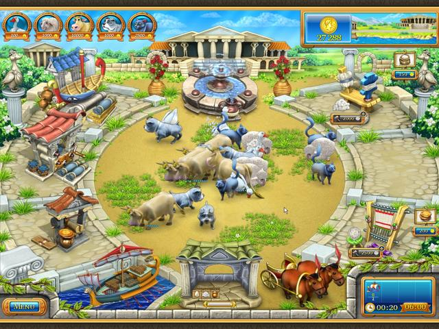 Farm Frenzy - Ancient Rome | GameHouse