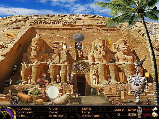 Egypt Hidden Objects Online Free Game GameHouse