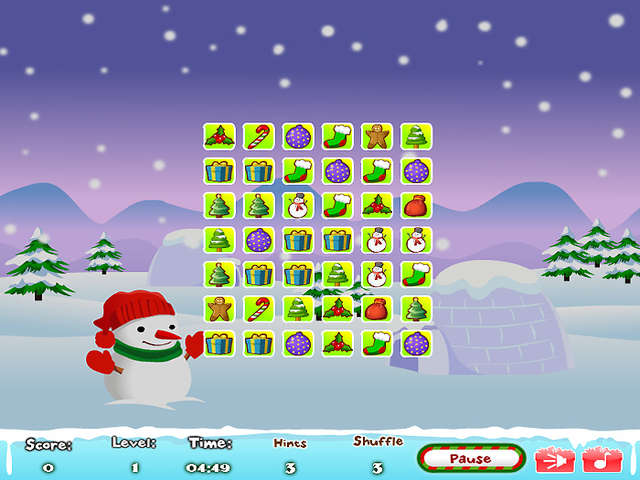 Christmas Connect Online Free Game Gamehouse