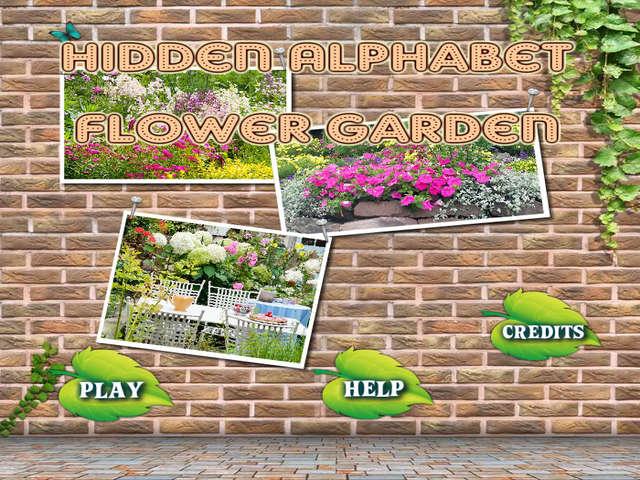 Hidden Alphabet Flower Garden Online Free Game | GameHouse