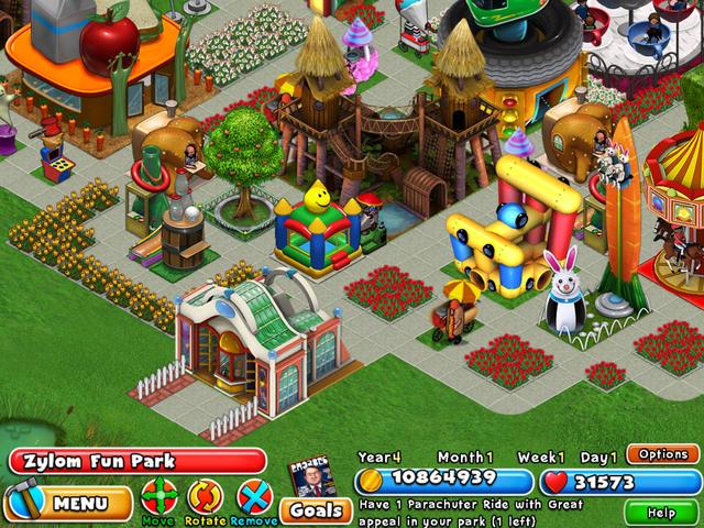 Dream Builder Amusement Park Gamehouse