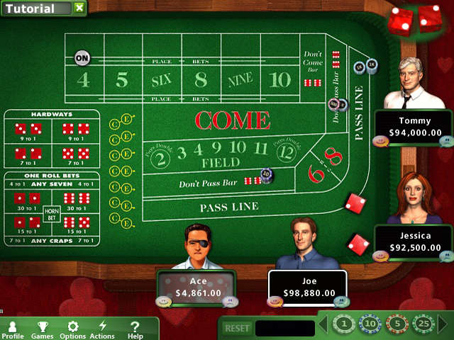 baccarat online system requirements
