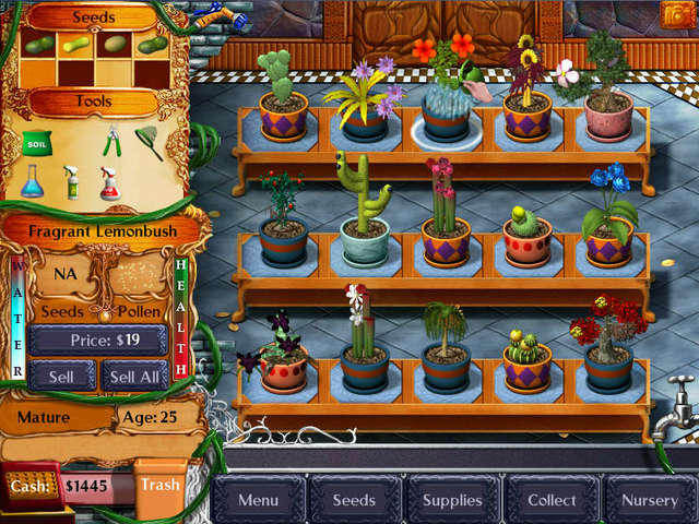 Plant Tycoon Gamehouse
