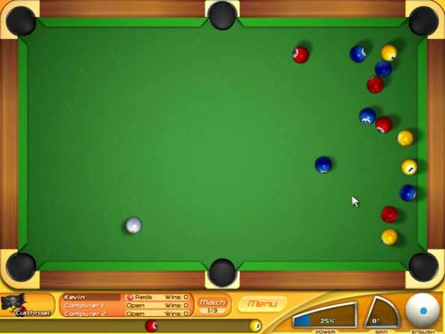backspin billiards complet