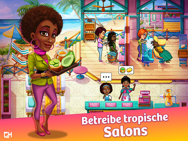 Mädchen Spiele Friseur