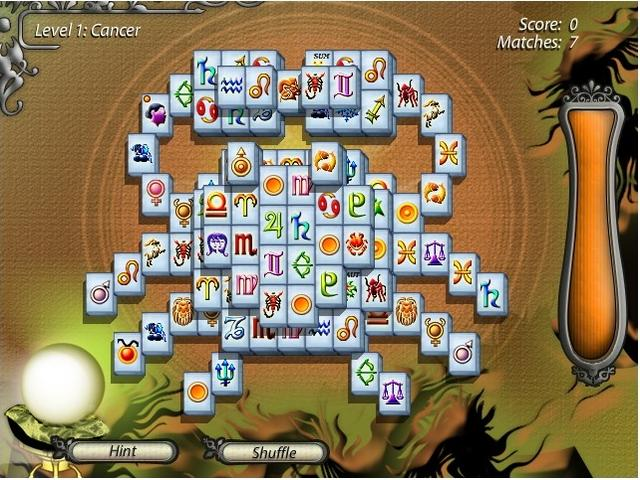 Mahjongg Fortuna Basic Online Free Game GameHouse