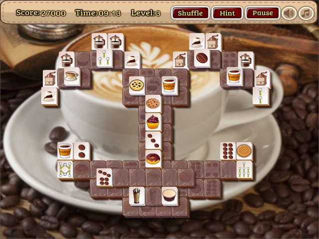 Coffee Mahjong Online Free Game GameHouse